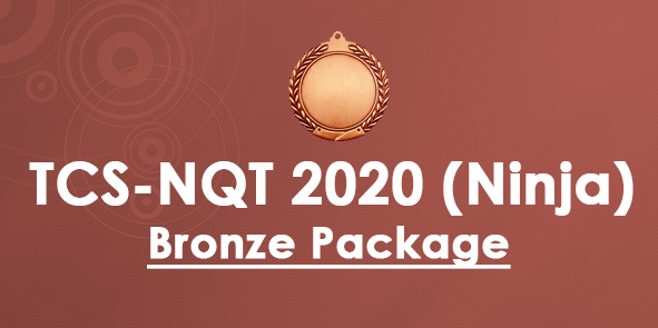 TCS NQT 2020 Ninja Bronze Package