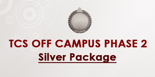 TCS OFF Campus Phase II- Preparation Silver Package