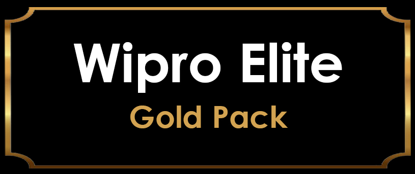 Wipro Elite 2020 Preparation - Gold Pack