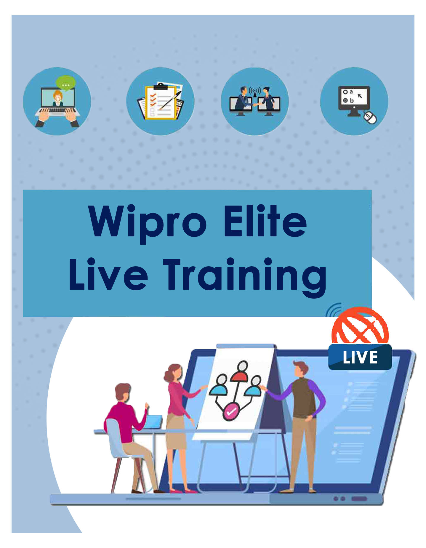Wipro Elite 2020 Live Training