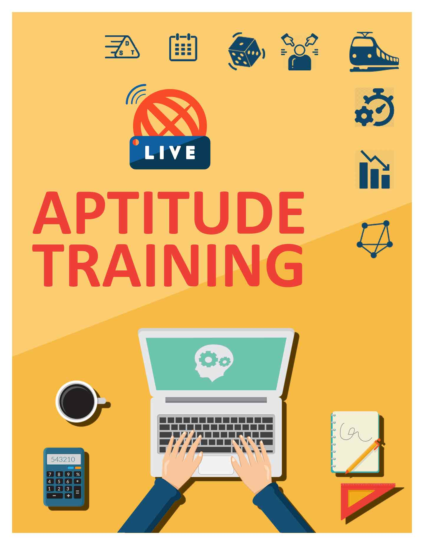 Complete Aptitude Course     (Quantitative - Logical Reasoning - Verbal Ability)